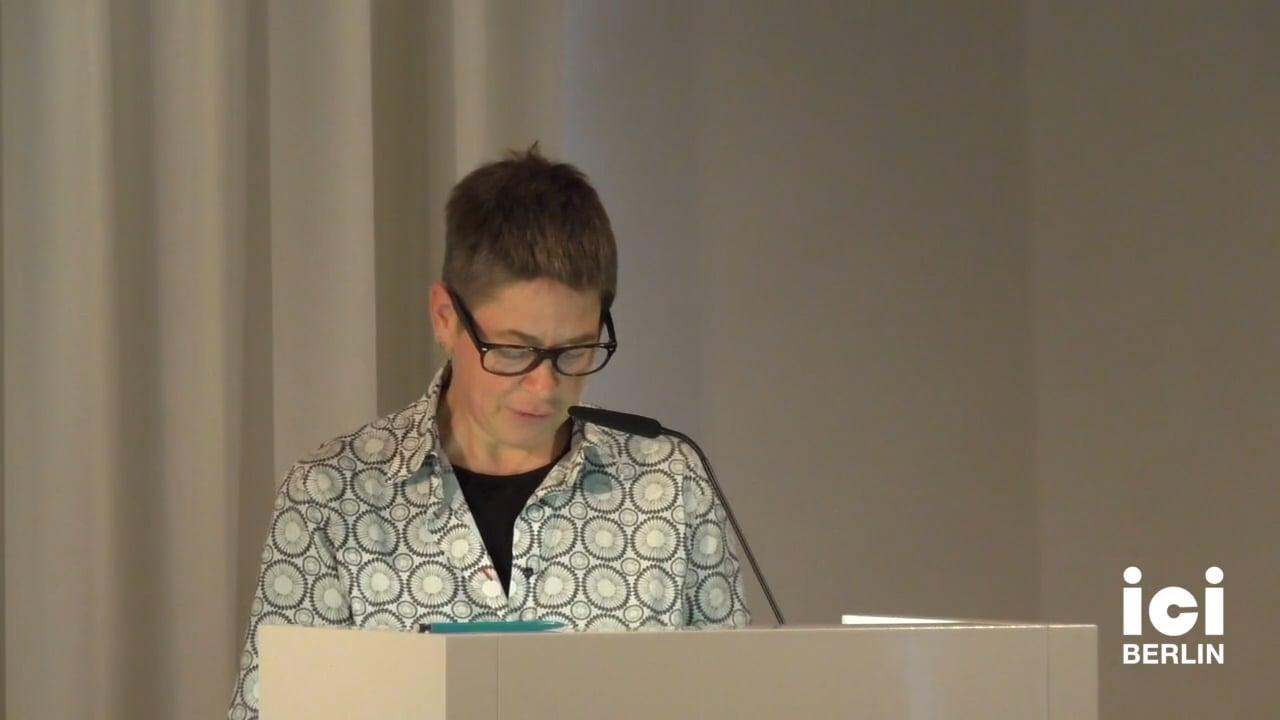 Talk by Antke Engel (Panel VII)