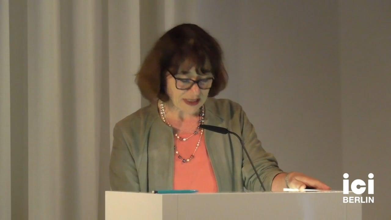 Talk by Astrid Deubner-Mankowsky (Panel VII)