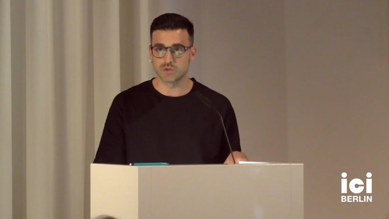 Talk by Filippo Trentin (Panel VI)