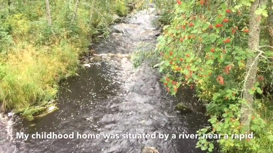 The River is like Life by Tuula Löf