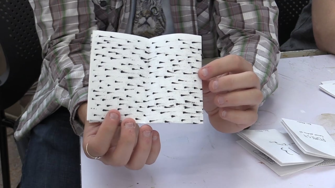 MAKER MAKER: Mini Zines with Evan Furness and Kevin Melanson