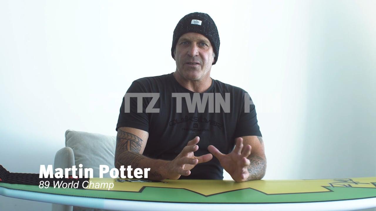"POTTZ TWIN FIN ""THE SAINT"""