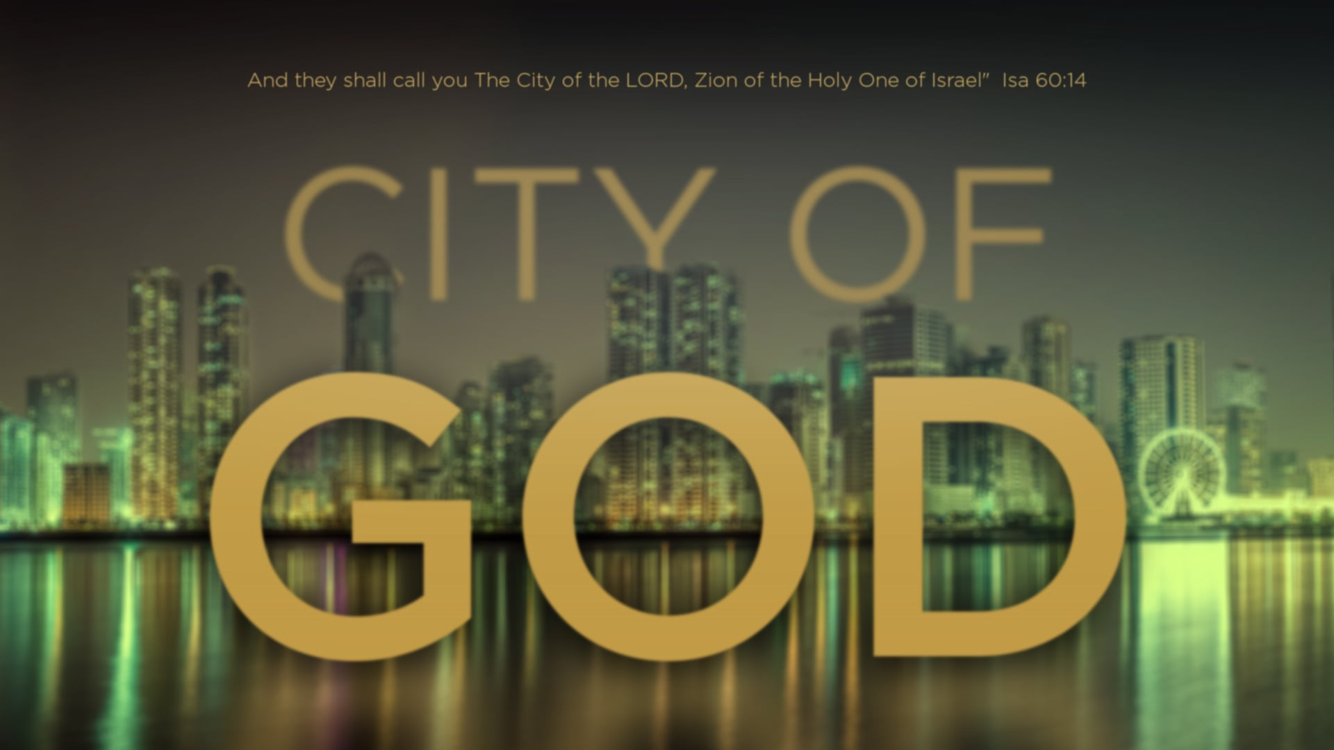 City of God - Part 6