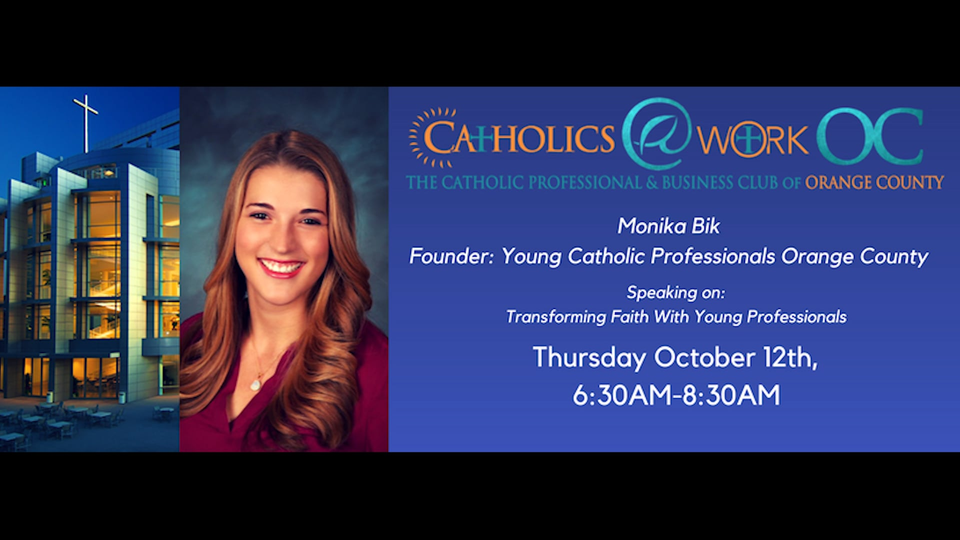 Monica Bik: Transforming Faith with Young Professionals
