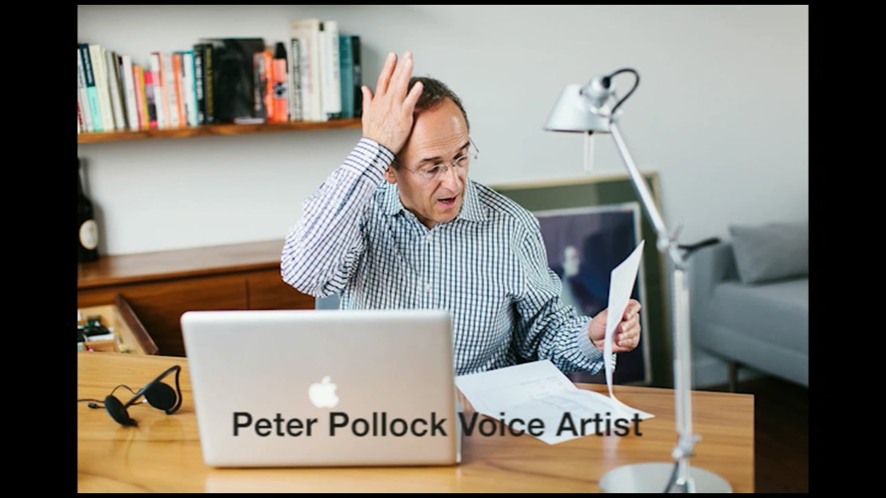 Peter Pollock Voiceover Montage - 59 seconds