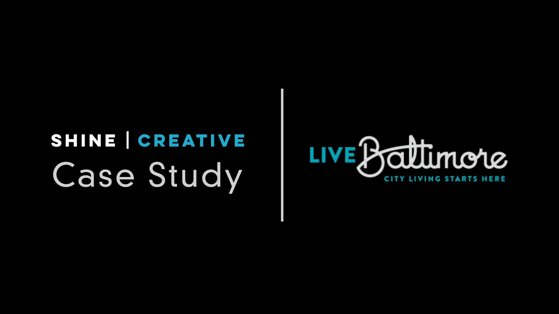 Case Study: Live Baltimore