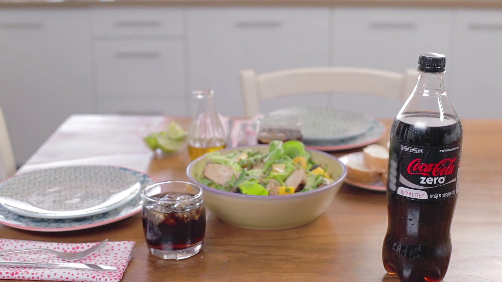 Coke & Meal Salad recipe