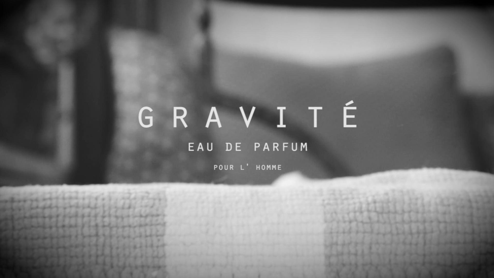 Gravité | Eau de parfum commercial (official)