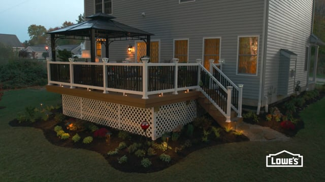 Lowe's - How to Build a Deck: Finishing Touches