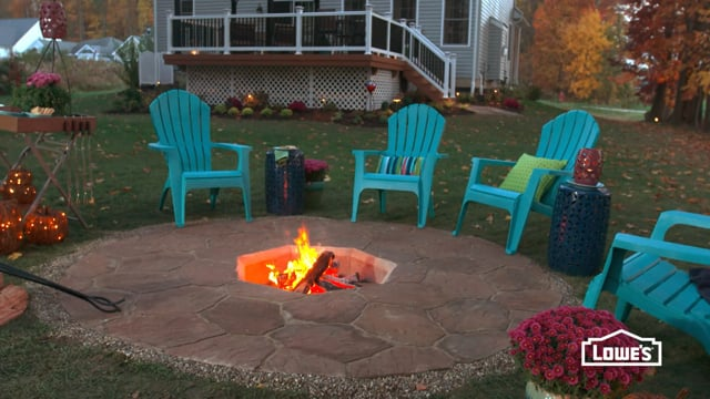 Lowe's - How to Build an In-Ground Fire Pit