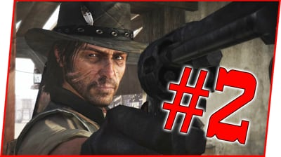 WE FINALLY GET TO SHOOT SOMEONE! - Red Dead Redemption Walkthrough Pt.2