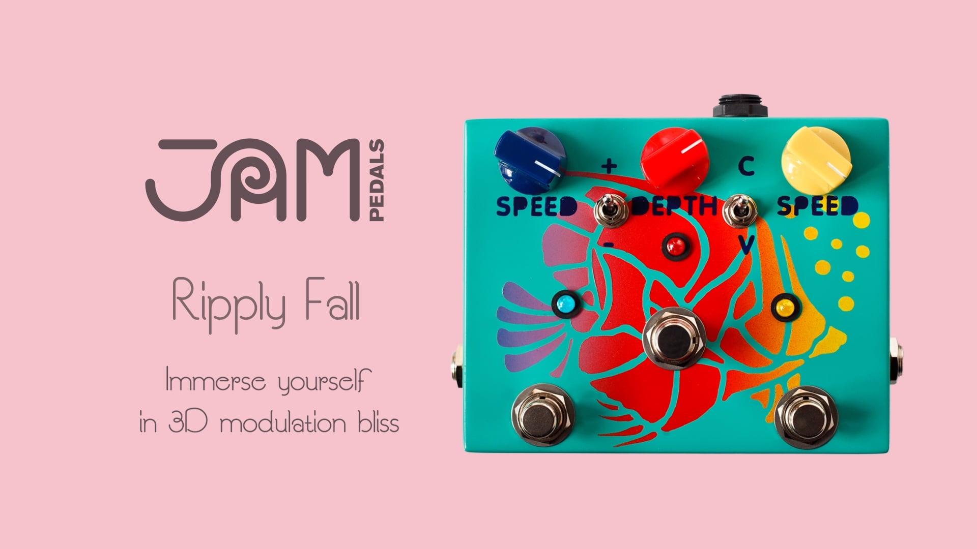 JAM pedals | Ripply Fall - Odyssey Teaser