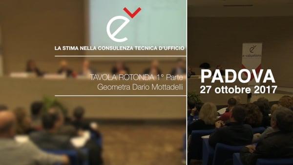 LA STIMA NELLA CONSULENZA D'UFFICIO Tavola rotonda 1° Parte - Geom. Dario Mottadelli