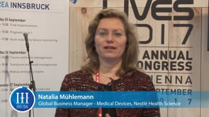 What are the key developments in the collaboration between Nestlé Health Science and GE, I-I-I Interview with Natalia Mühlemann