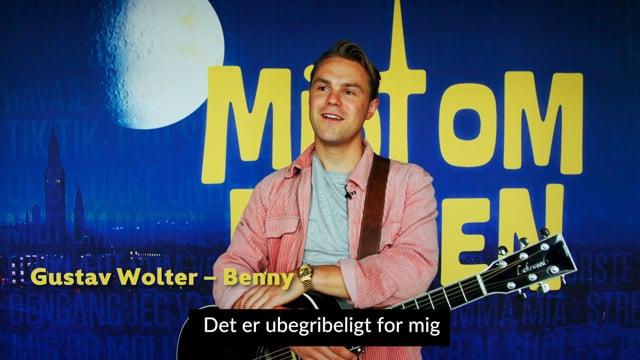 Gustav A.K.A Benny - Midt om natten `The Musical` Promo