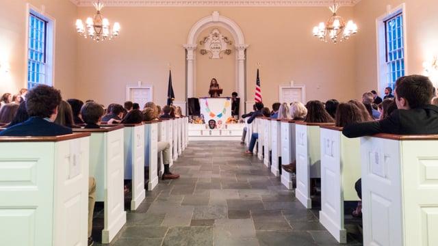 Millbrook Chapel Talk - Martha Clizbe