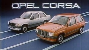 Corsa A - Launch 1983