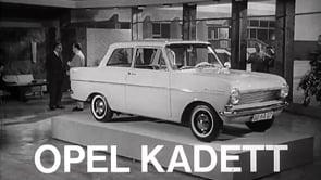 Kadett A Probefahrt 1962
