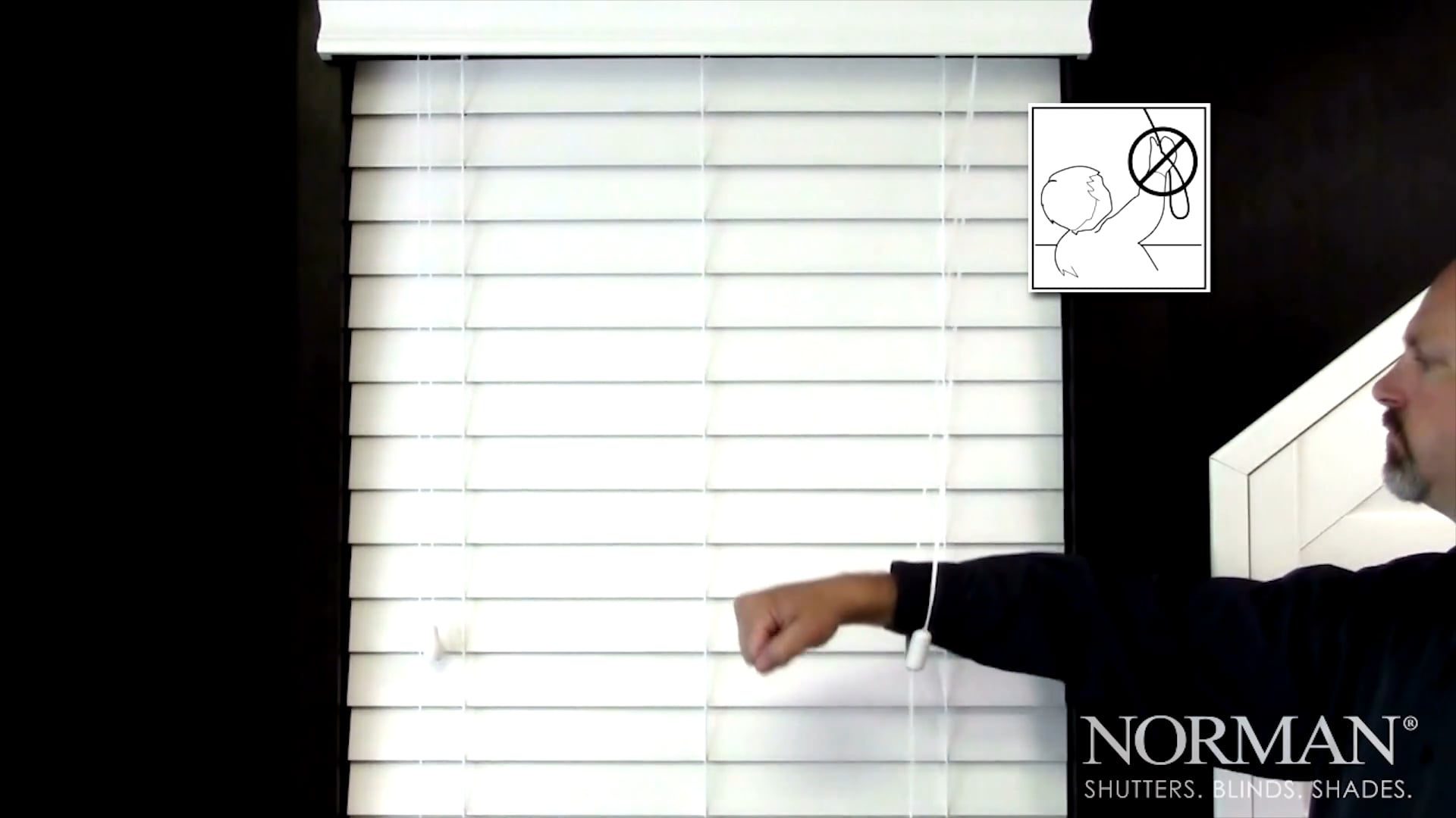 Norman® Child Safe Cord Release Device for Horizontal Blinds