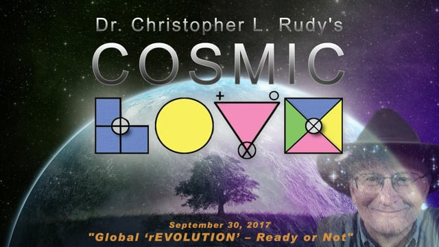 """09-30-2017:  """"Global 'rEVOLUTION' – Ready or Not"""""""