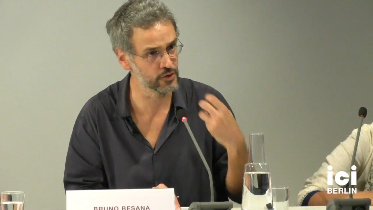 Talk by Bruno Besana (Panel IX)