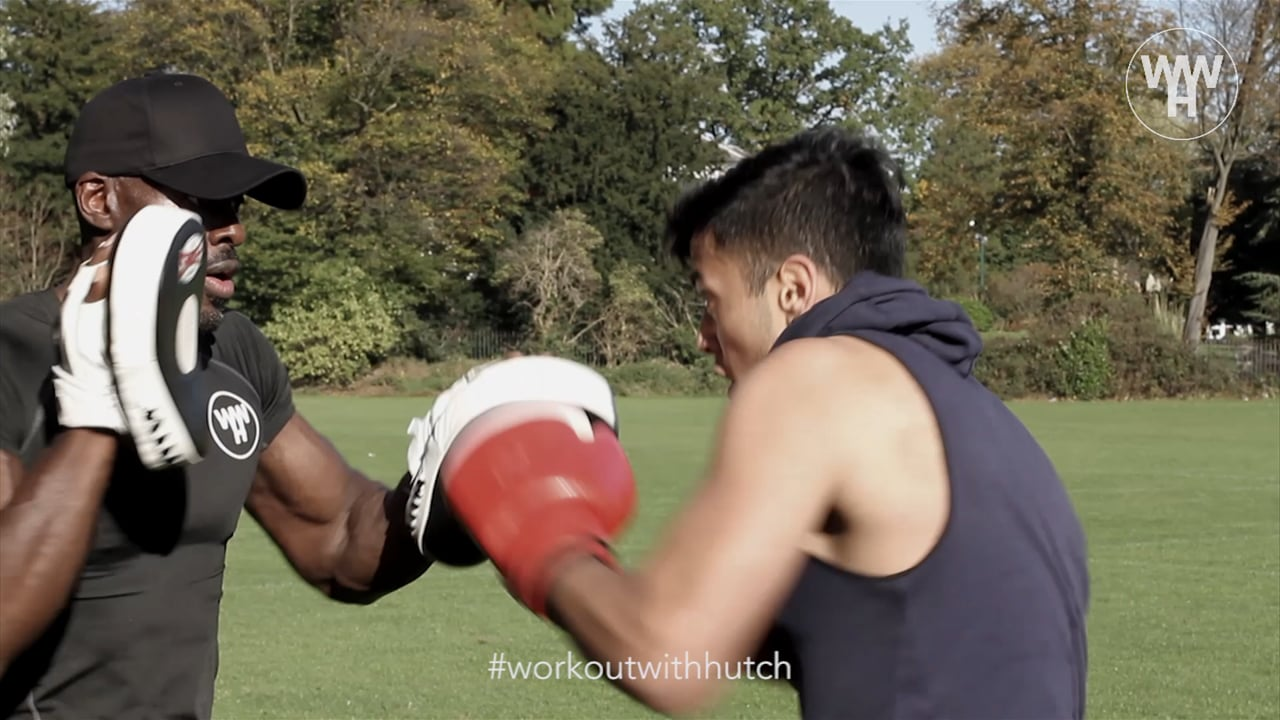 Work Out With Hutch Pad Work