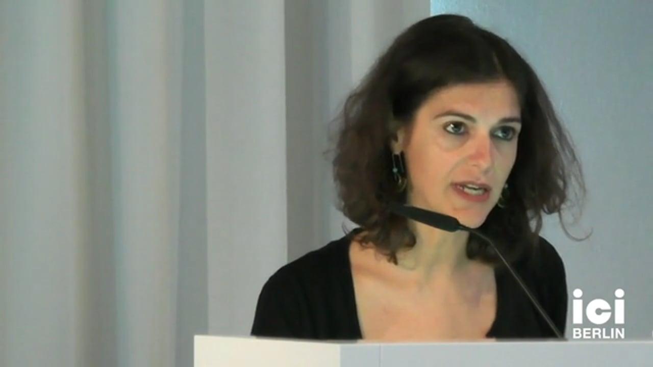 Talk by Eirini Avramopoulou (Panel IV)