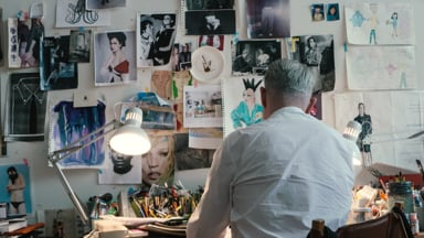 A Quality Cut with Illustrator Richard Haines