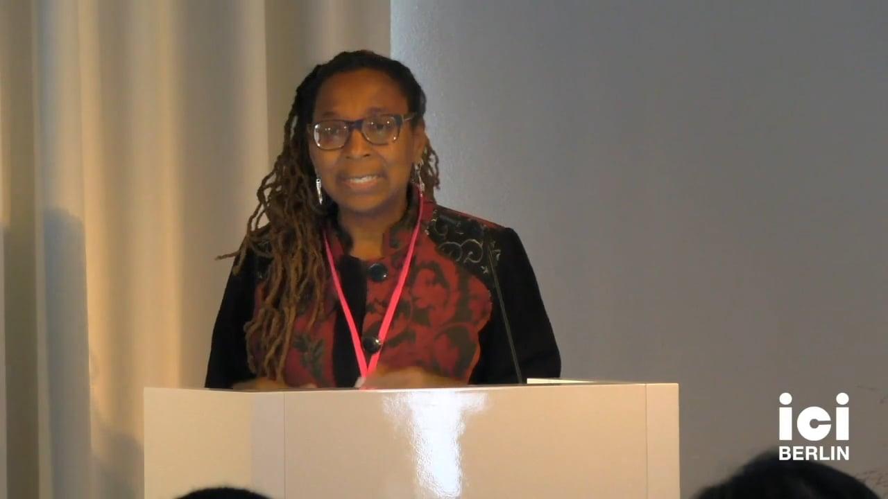 Talk by Kimberlé Williams Crenshaw