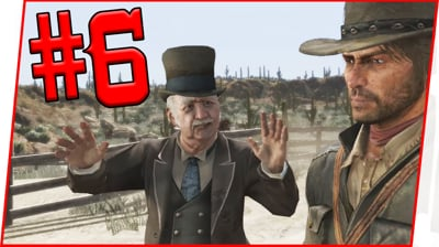 WE UNLOCKED A NEW ABILITY! - Red Dead Redemption Walkthrough Pt.6