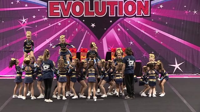 CheerForce All Stars   Shimmer   Youth 1 Prep