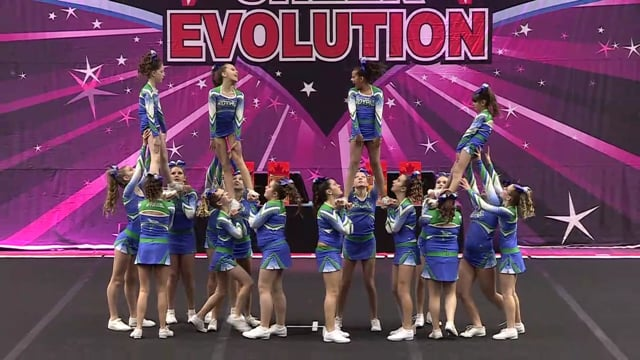 CheerStrike Royals   Empire   Junior 1
