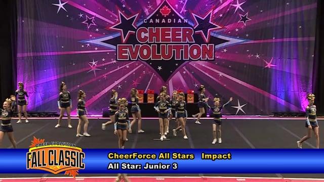 CheerForce All Stars   Impact   Junior 3