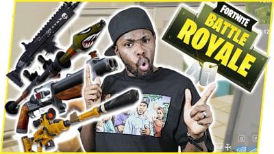 THE GUN SKILLS ARE IMPROVING BABY! - FortNite Battle Royale