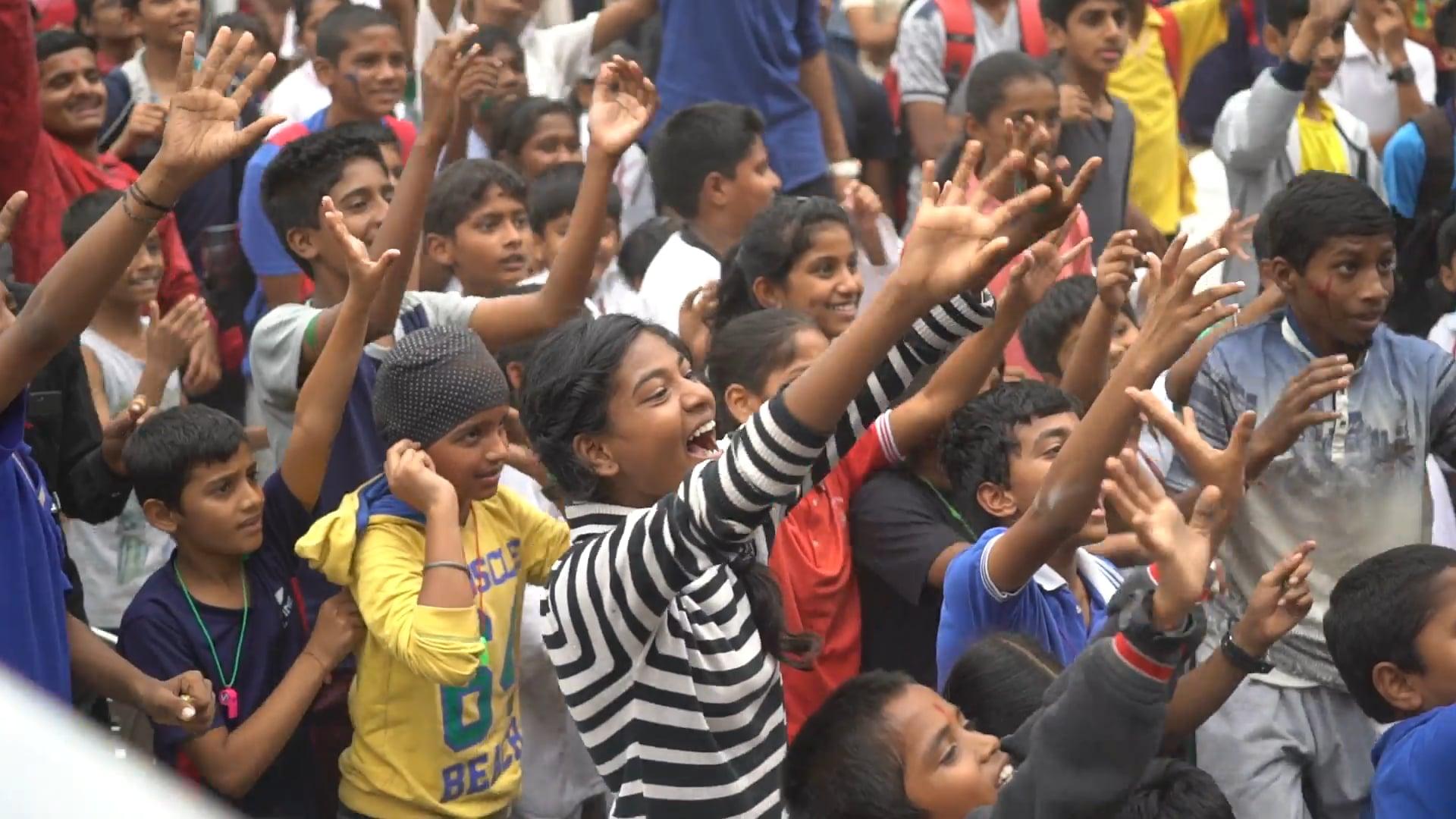 Children's Day Celebration at the SFA Championship Hyderabad 2017.