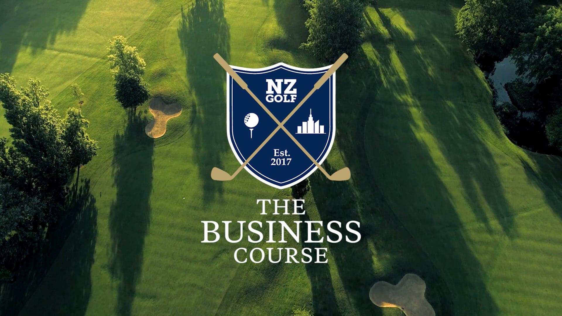 NZ Golf Busines Course