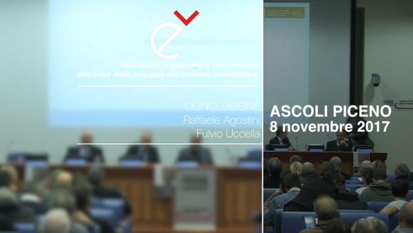 Conclusioni del Seminario Valutazioni trasparenti e riesaminabili alla base dello sviluppo del mercato immobiliare.