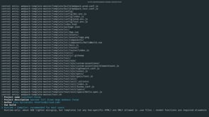 Scaffold your project with Vue CLI