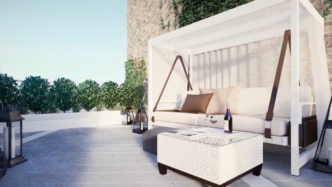 Hanway Gardens, elegant London Fitzrovia apartments for sale