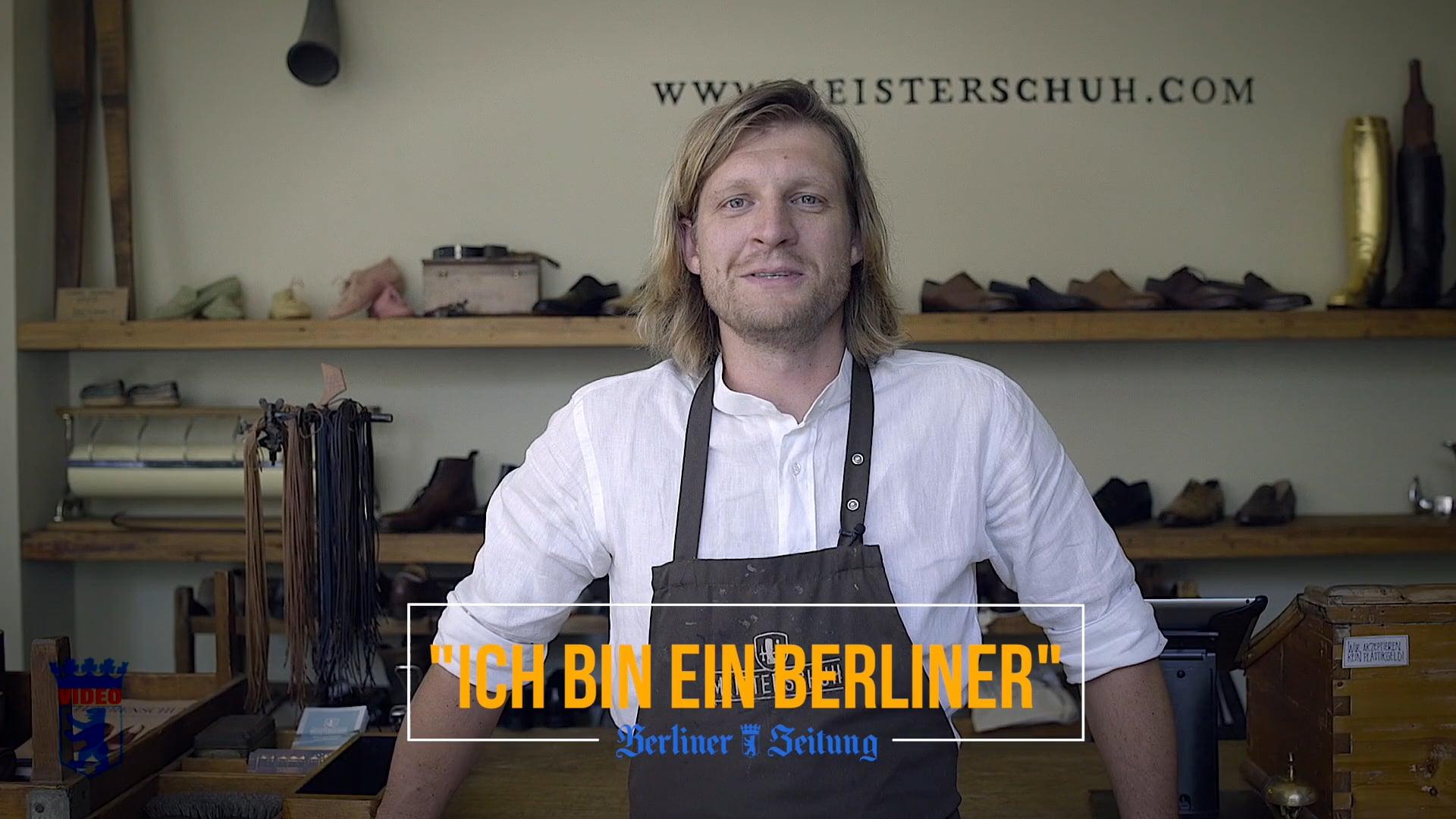 Ich bin ein Berliner I Simon Schäfer