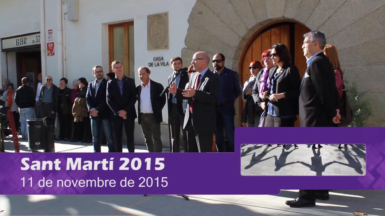 Festa Major de Sant Martí 2015 (dia 11)