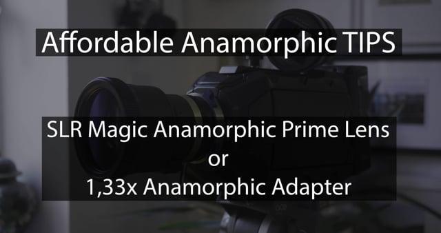 Anamorphic Info