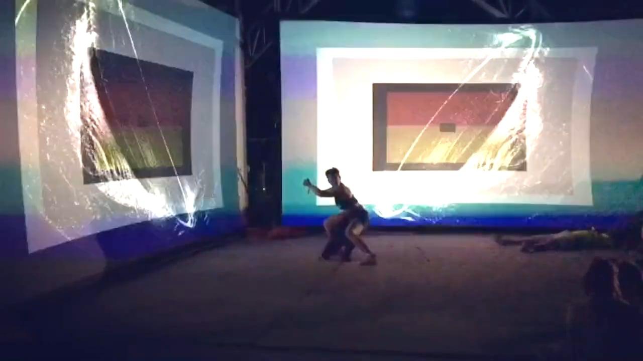Sacred Geometry (audiovisual installation) House of Creative Festival
