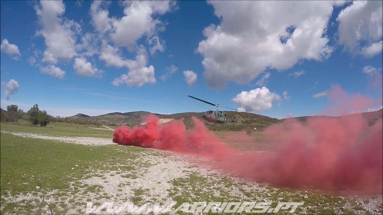Paraquedistas Portugueses - Kosovo e Bosnia