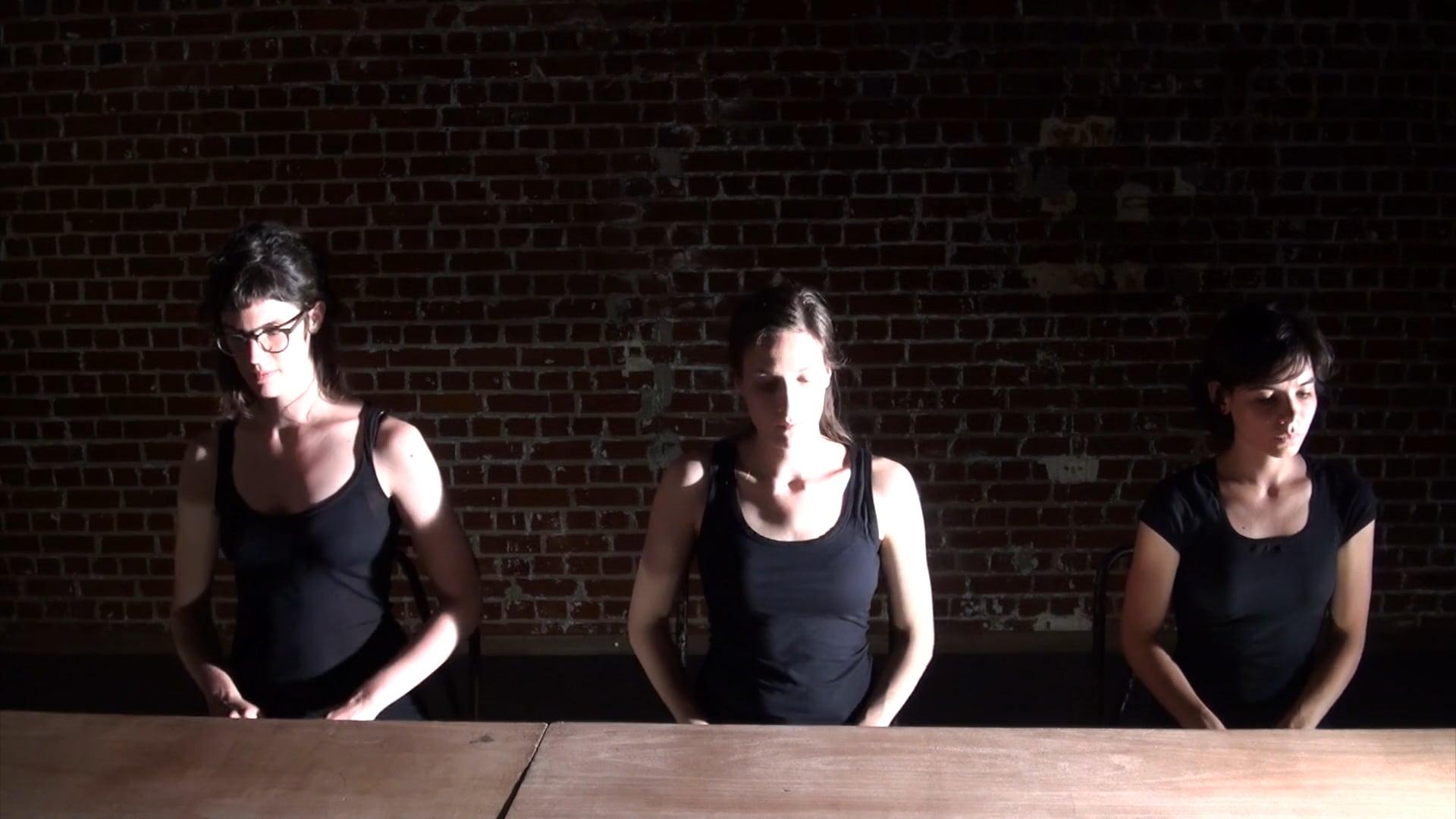 Musique de table by Thierry De Mey