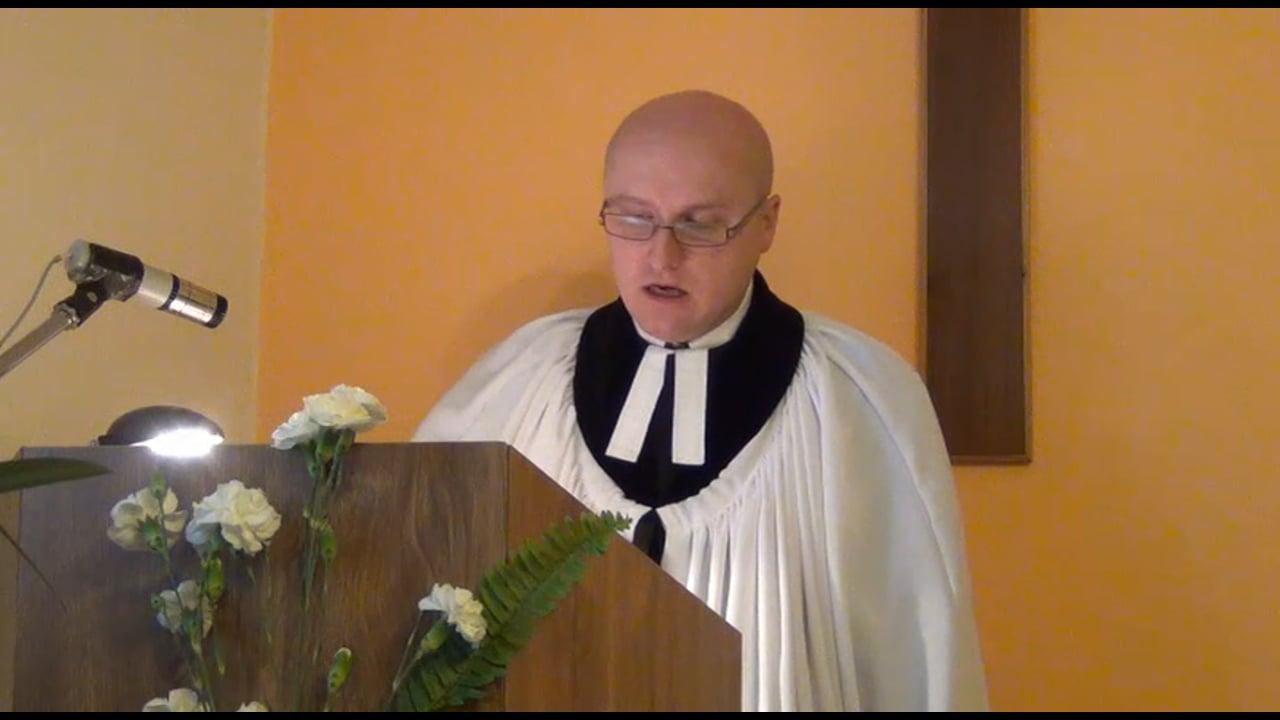 Kázání 19.11.2017