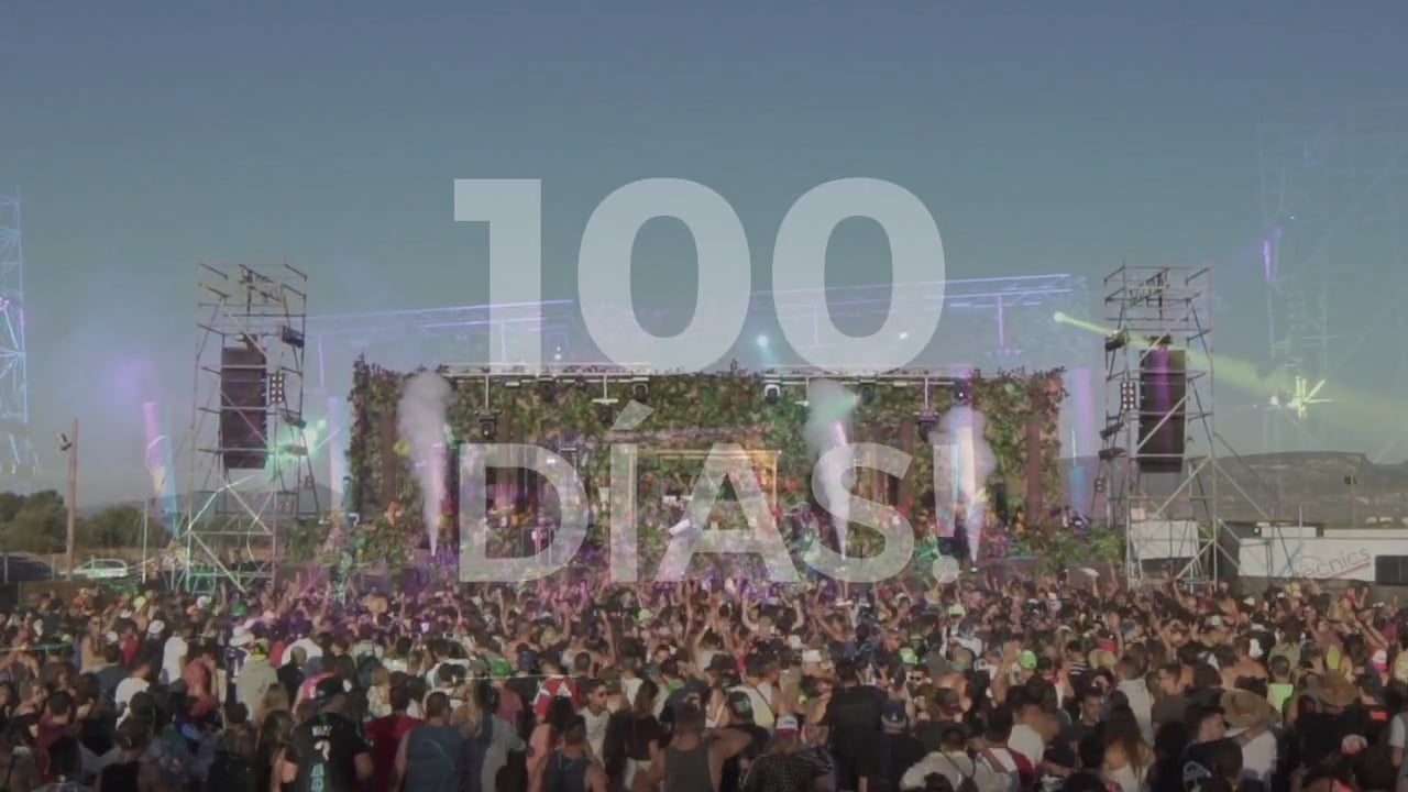 Video promocional 100 días The End of the World