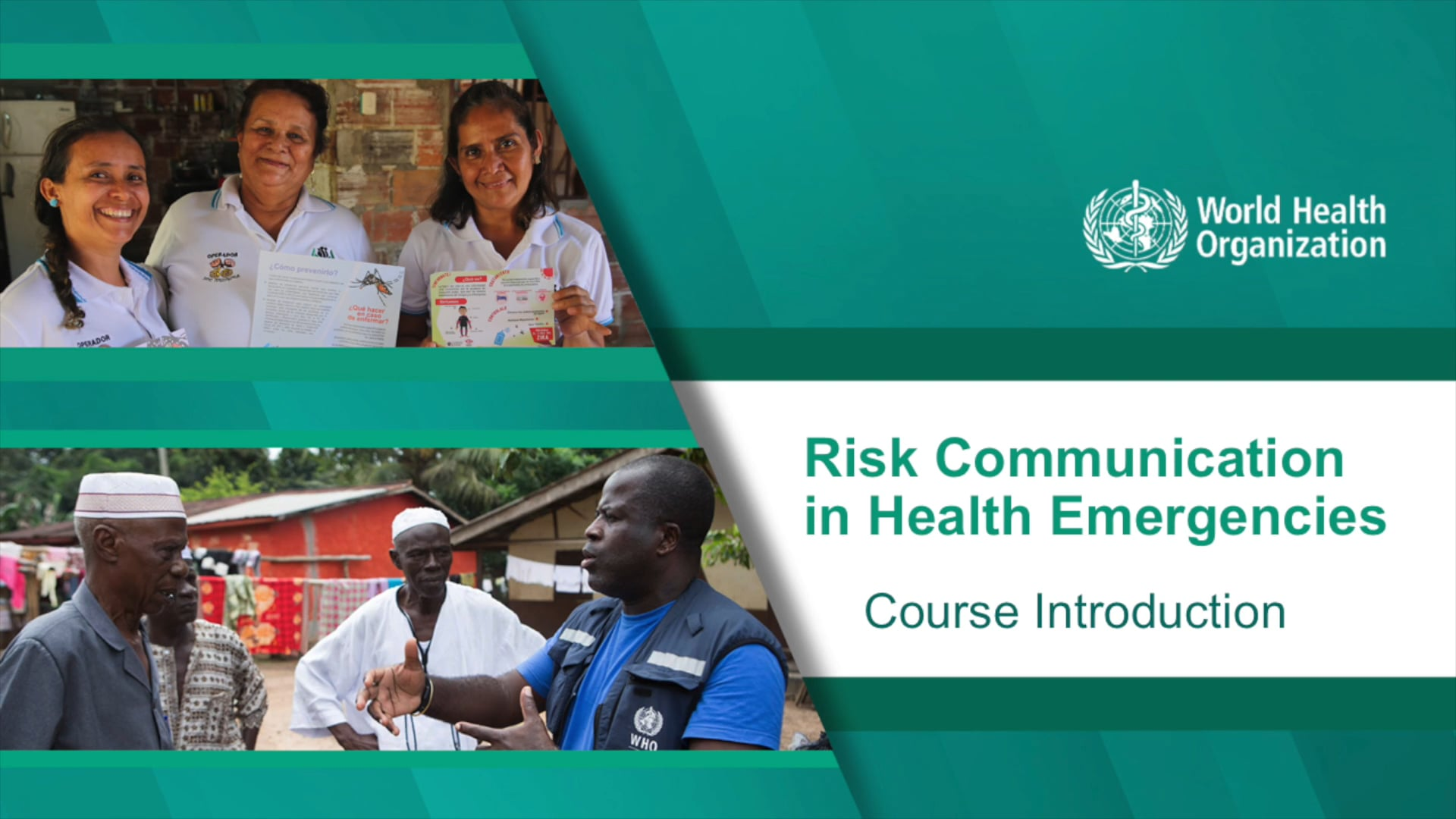 紧急卫生事件风险沟通:概述
