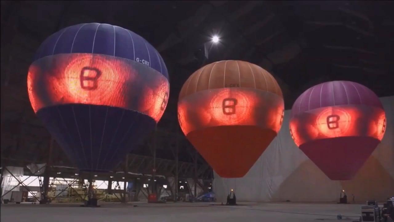 LED Hot Air Balloons