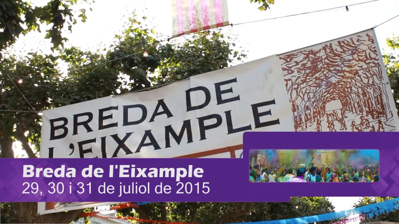 Breda de l'Eixample 2016